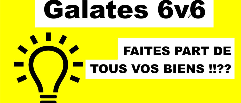 Galates 6v6
