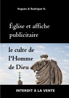 Eglise et affiche publicitaire le culte de l'Homme de Dieu 24.02.15