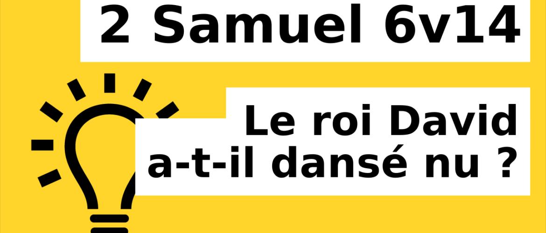 2 Samuel 6v14